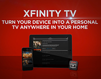 Comcast Xfininity Apps Promo
