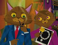 Tigrillo Bobtail: Private Detective Book