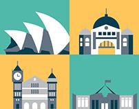 Animation: Australian Capital Cities