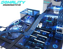sonality VR city
