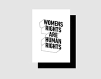 womens rights poster – womens march 2017