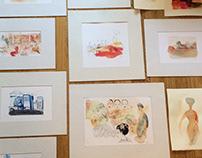 Exhibition, IBTG, Gestalt Institute Turin, May 28
