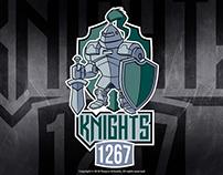 Mascot Logo for a Robotics Team