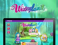 Wizzyland Website