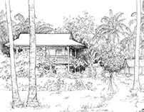 Thailand and Cambodia sketches