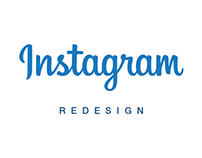 Instagram App Redesign - iOS