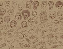 Comfort zone sketches