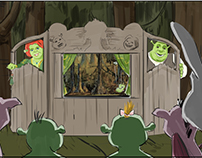 Shrek Ride Storyboards