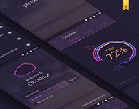 Clouditor. Mobile App. UI/UX