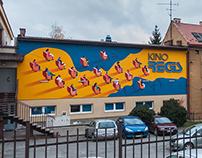 Good Looking Studio x Marcin Mokierów-Czołowski - mural