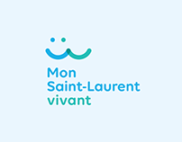 Mon Saint-Laurent vivant - Image de marque
