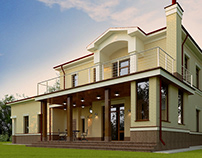 PRIVATE HOUSE architecture and design 250 м² 2016