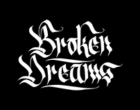 Broken Dreams (calligraphy video)