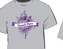 T-Shirt design, for OKC school