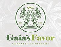 Gaia's Favor Branding