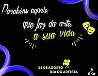 """Datas comemorativas - Facebook da 3"""" Comunicação Jr."""