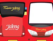 Infografis BRT Trans Jateng Purwokerto-Purbalingga