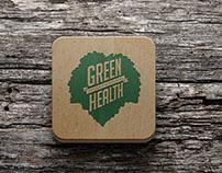 Green Health International Corporate Identity Design.