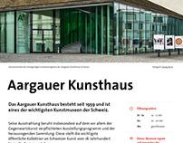 Standorte auf der Website von «aarau info»