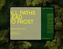 Frost Amphitheater Branding