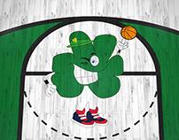 Boston Celtics Fan Art