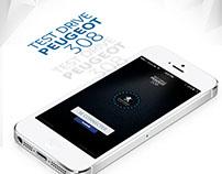 Peugeot Test Drive - Mobile App