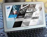 Akım Metal Web Design