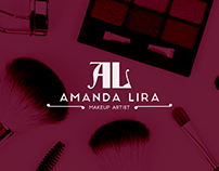 AMANDA LIRA MAKEUP - BRAND DESIGN
