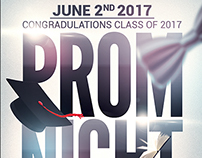 Prom-Graduation Night Party Flyer Template