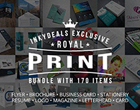 Royal Print Templates Bundle With 170 Items