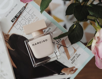 Web Design of Narciso Rodriguez online store