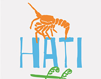 Hāti Nāti Māori Kai Festival Brand Identity