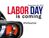 Labor Day 2017 - Facebook Ad
