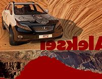 Aleksei | Lexus RX 2014 Vinyl Design
