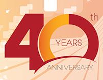 40th anniversary poster- random company