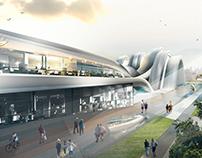 Projeto 4 - Edifício Cultural em Alexânia.