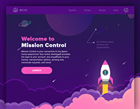 Mission Control Website