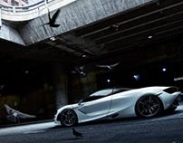 McLaren 720s CGI.