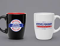 Steve Fought Political Campaign Logos