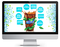 Website Nestea Corporativo