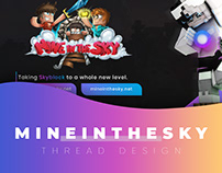 MineInTheSky - Thread Design