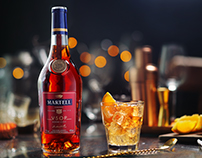 cinemagraphs for Martell Russia