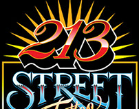 213 Street Tattoo (Sticker logo)