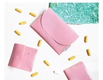 Bioplastic wallets