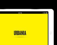 Urbania | Responsive website + interactive magazine app