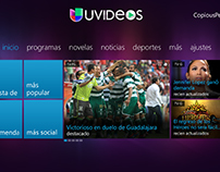 Xbox 360 Design - Blockbuster & Univision