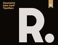 Extreme Geometric Typeface