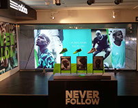 Adidas Football Never Follow - Intersport Barcelona