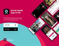 Teensy - Social Media App UI Kit