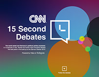 CNN – 15 Second Debates #CNN15s